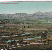Mission Valley San Diego CA California Vintage Postcard