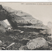 Alligator Head La Jolla near San Diego CA California Vintage Postcard