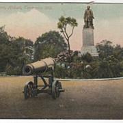 Franklin Square Hobart Tasmania Australia Vintage Postcard