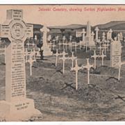 Intombi Cemetery South Africa Gordon Highlanders Monument Vintage Postcard