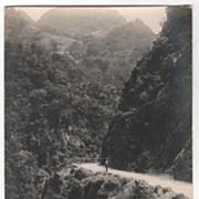 rppc ARTURA Beguet Road KM 11 Philippines Vintage Postcard
