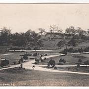 rppc ARTURA Camp John Hay Mt Prov Philippines Vintage Postcard
