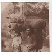 rppc ARTURA Igorot (Igorote) Baguio Philippines Vintage Postcard
