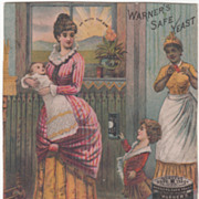 Warner's Safe Yeast Rochester NY New York Trade Card
