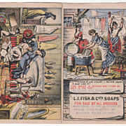 L I Fisk & Co's Soaps Japanese Soap Victorian Trade Brochure