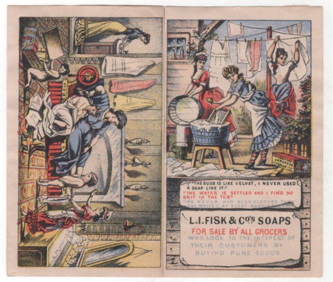 L I Fisk & Co's Soaps Japanese Soap Victorian Trade Brochure