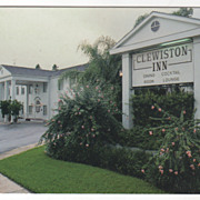 Clewiston Inn Everglades Landmark Clewiston FL Florida Vintage Postcard