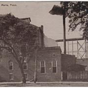 Paris Milling Company Vintage Paris Tennessee TN Postcard
