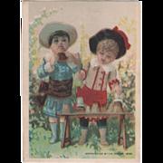 Great Atlantic & Pacific Tea Co 117 E Water St Elmira NY Vintage Trade Card