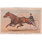 Hopkins' Magic Healing Powder Depot Providence RI Vintage Trade Card