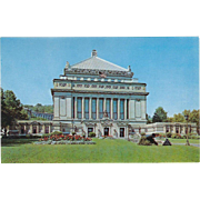 Soldiers and Sailors Memorial Hall Pittsburgh PA Pennsylvania Vintage Postcard