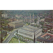Civic Center Pittsburgh PA Pennsylvania Vintage Postcard