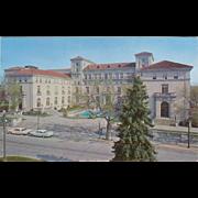 The Community Building Hershey PA Vintage Postcard