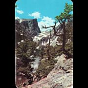 Dream Lake Rocky Mountain National Park CO Colorado Vintage Postcard