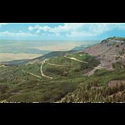 Land's End Grand Mesa Western CO Colorado Vintage Postcard