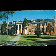 Thaw Hall Maryville College Maryville TN Tennessee Vintage Postcard