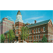Knox County Court House Hotel Andrew Johnson Knoxville TN Vintage Postcard