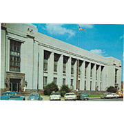 U S Post Office and Court House Knoxville TN Tennessee Vintage Postcard