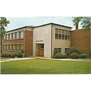 Maples Library Carson-Newman Jefferson CIty TN Tennessee Vintage Postcard