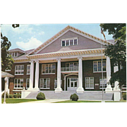 Administration Building CNC Jefferson CIty TN Tennessee Vintage Postcard