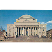 Low Memorial Library Columbia University NYC NY New York Vintage Postcard