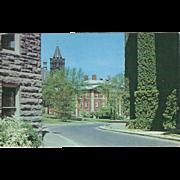 Crouse College Maxwell Citizenship School Syracuse NY New York Vintage Postcard