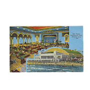 Ball Room Convention Center Atlantic City NJ New Jersey Vintage Postcard