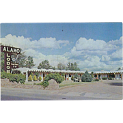 Alamo Lodge 1842 Cerrillos Road Santa Fe NM New Mexico Vintage Postcard