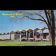 Noble Getchell Library University of Nevada Reno NV Nevada Vintage Postcard