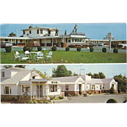 Dutch Maid Motels Woodbridge and Amboy NJ New Jersey Vintage Postcard