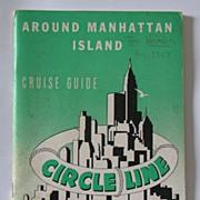 Around Manhattan Island - 1957 Circle Line Cruise Guide