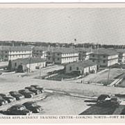 Engineer Replacement Training Center - Looking North - Fort Belvoir VA Virginia Postcard