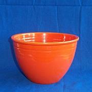 Fiesta Red #5 Mixing Bowl