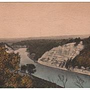 Genessee Gorge Castile NY New York Postcard