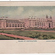 Palace of Horticulture Louisiana Purchase Exposition St Louis MO 1904