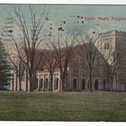 Vassar Chapel Poughkeepsie NY New York Vintage Postcard