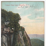 Caesars Head near Asheville NC North Carolina Vintage Postcard
