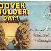 Hoover or Boulder Dam Souvenir Folder