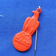 J. I. Case Company Plastic Advertising Stickpin