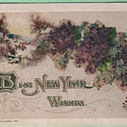 John Winsch Best New Year Wishes Glitter 1912