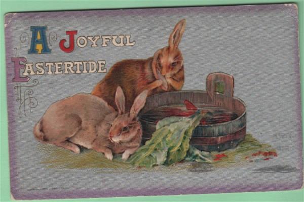 John Winsch A Joyful Eastertide Postcard