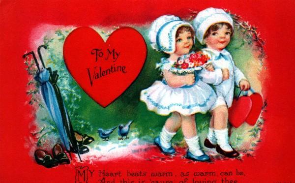 Unsigned Clapsaddle To My Valentine Wolf Publishing