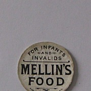 Advertising Paper Bottle Cap Mellin's Food for Infant & Invalid