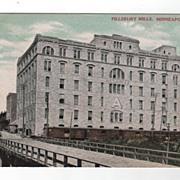 Pillsbury Mills Minneapolis Minnesota postcard