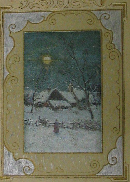 John Winsch A Merry Christmas Postcard that Opens