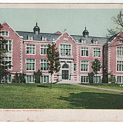 DPC Rockefeller Hall Vassar College Poughkeepsie NY New York Vintage Postcard
