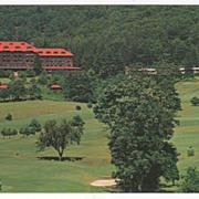 Grove Park Inn and Motor Lodge Asheville NC North Carolina Vintage Postcard