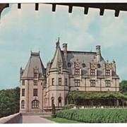 SOLD Biltmore House and Gardens Asheville NC North Carolina Vintage Postcard - Red Tag Sale It