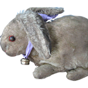 REDUCED Antique Steiff Mohair Rabbit, Early & Loved