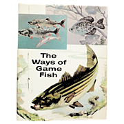 SOLD Ways of Game Fish Coffee Table Book